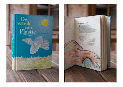 Binnen en buitenkant van De Wereld van Plastic